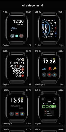 Amazfit GTS - WatchFaces für Amazfit GTS-Screenshots 2