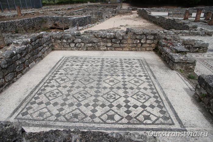 Археологические раскопки Конимбрига, недалеко от Коимбры