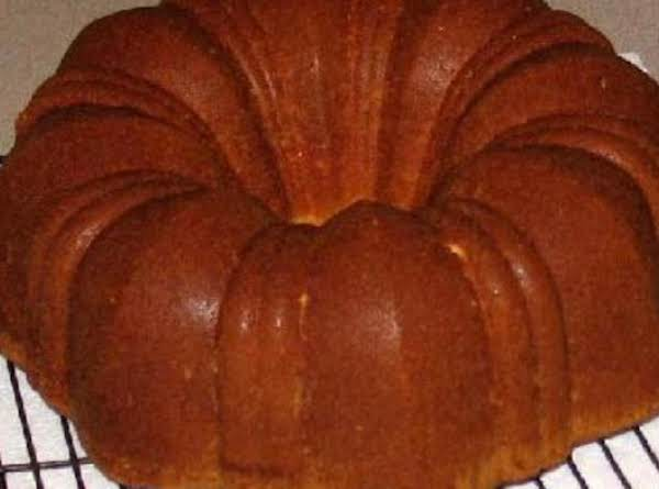 Buttery Apple Pound Cake
