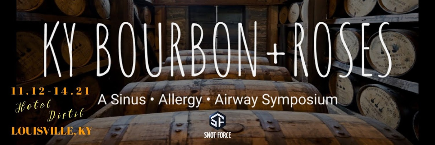 KY Bourbon+Roses: A Sinus, Allergy, and Airway Symposium