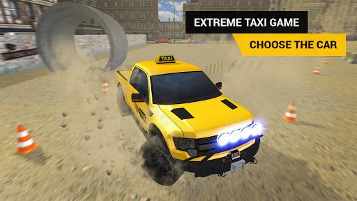 タクシーの運転ゲーム