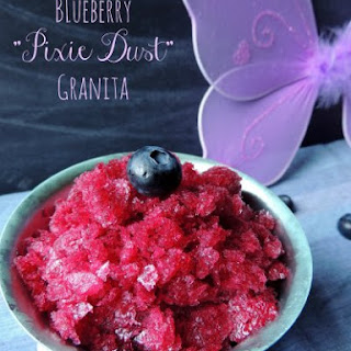 "Blueberry ""Pixie Dust"" Granita"