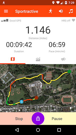 Sportractive GPS Running Cycling Distance Tracker 4.0.0 screenshots 2