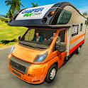Caravan Driving Beach Resort: Drive RV Camper Van icon