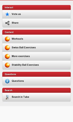 Balance Ball workouts