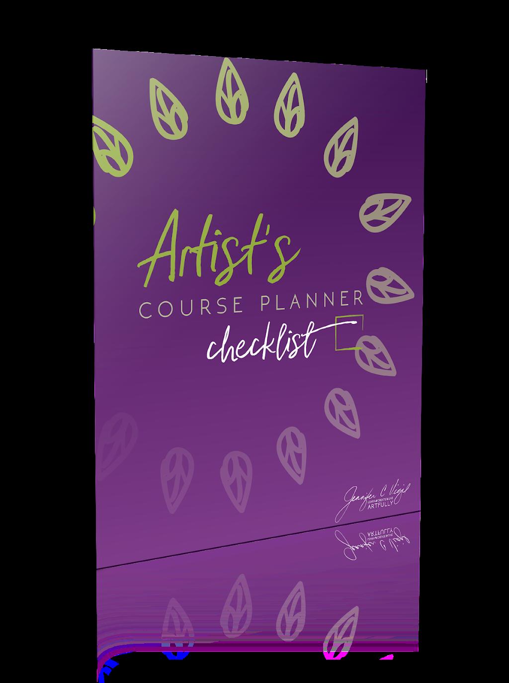 Artist's Course Planner Checklist