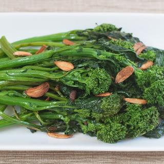 Broccoli Rabe with Garlic Chips