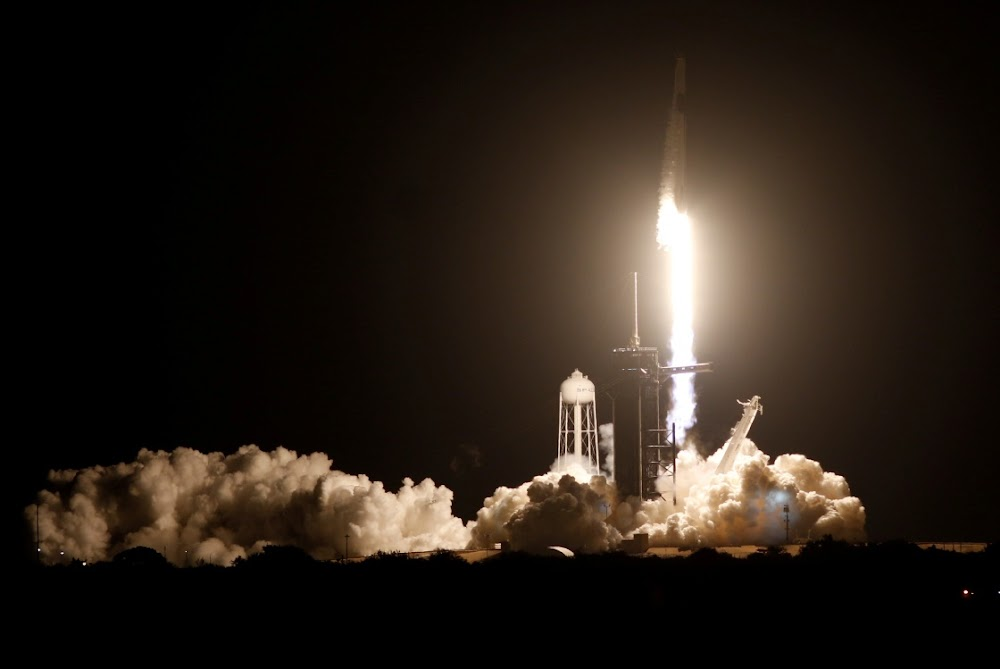 'One heck of a ride': SpaceX launches astronauts into space