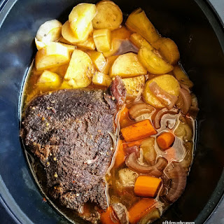 Slow Cooker Moroccan Pot Roast.