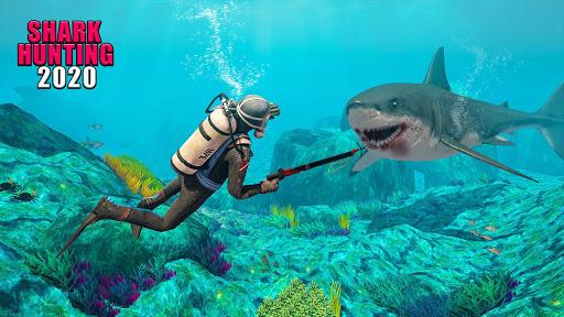 Survivor Sharks Game: Shooting Hunter Action Games android2mod screenshots 1