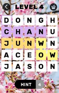 Find Kpop idols names - náhled