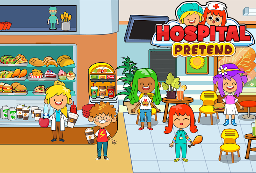My Pretend Hospital - Kids Hospital Town Life 2.0 screenshots 3