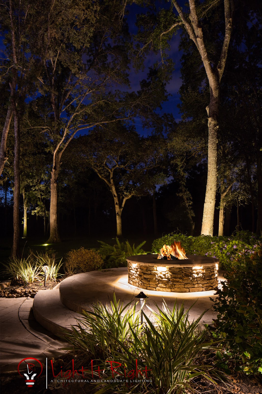 LED Fire Pit Lighting