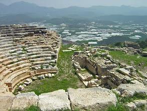 Photo: Rhodiapolis, View from the Theater .......... Uitzicht vanuit het Theater