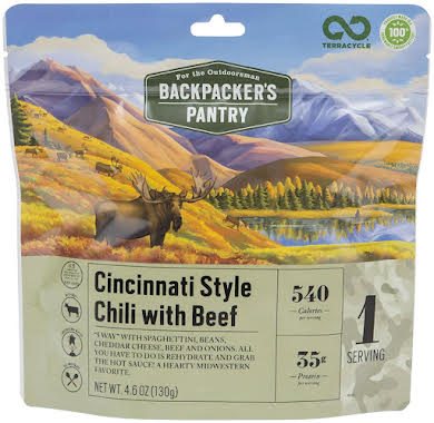 BackCountry Research Outdoorsman Cincinnati Style Chili with Beef: 1 Serving alternate image 1