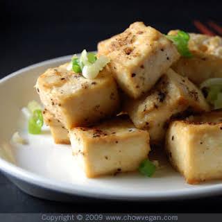 Salt and Pepper Roasted Tofu.