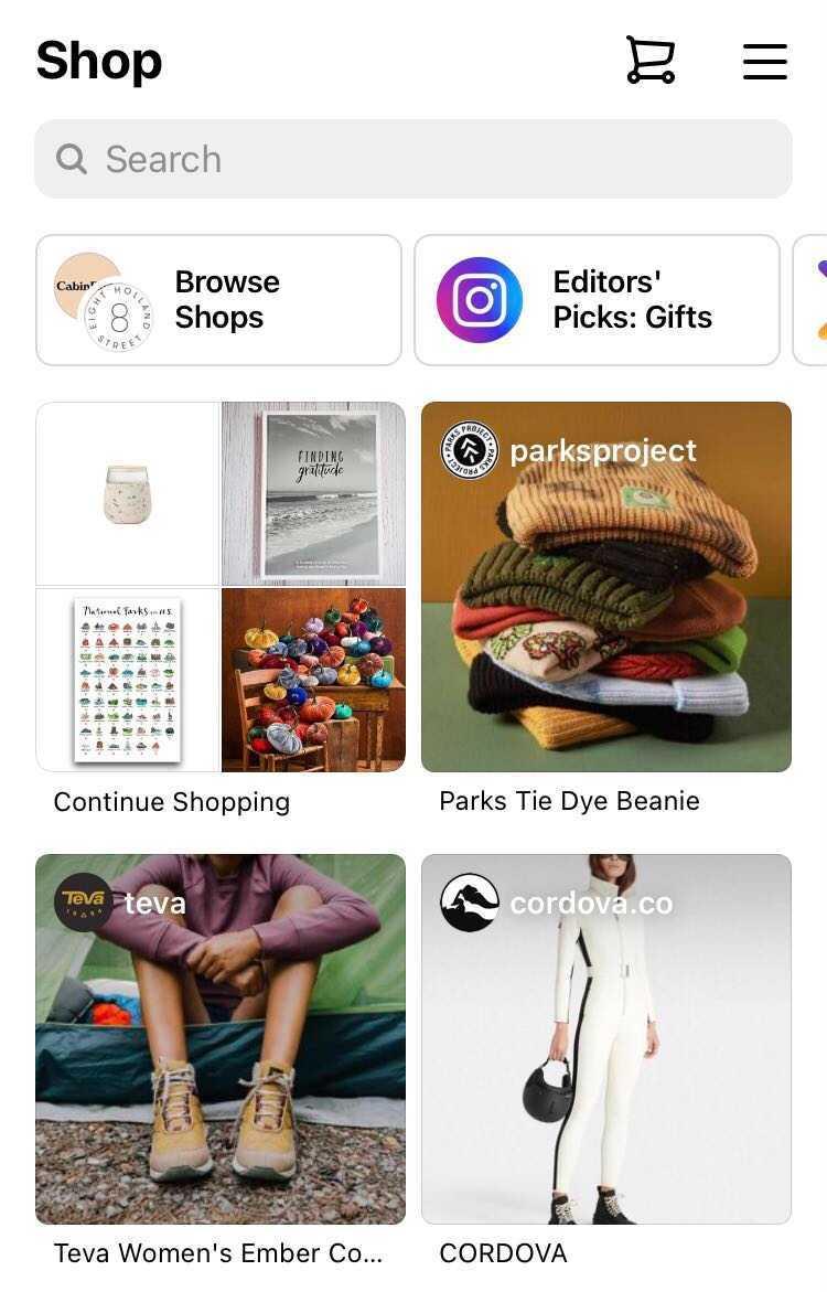 instagram hacks - shopping on the platform