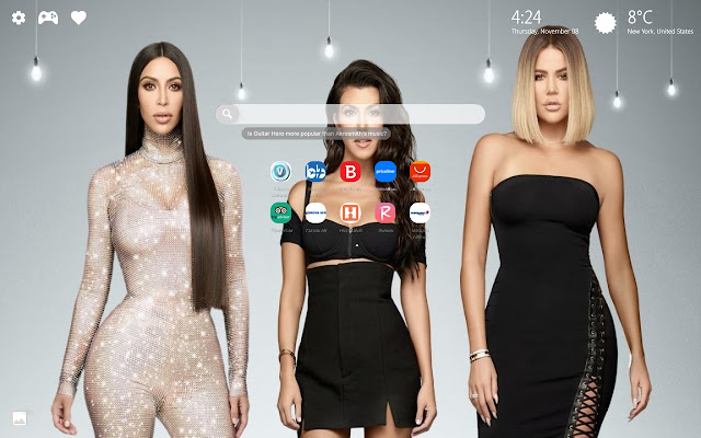 Keeping Up With the Kardashians New Tab