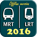 Singapore MRT Map 2016 icon