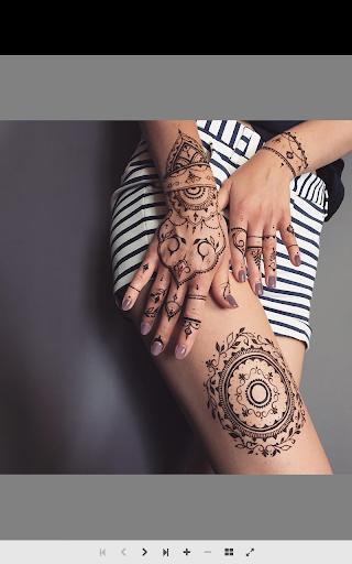 指甲花纹身
