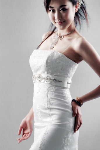 ivory bridal gown