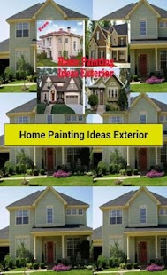 home painting ideas exterior android apps on google play. Black Bedroom Furniture Sets. Home Design Ideas