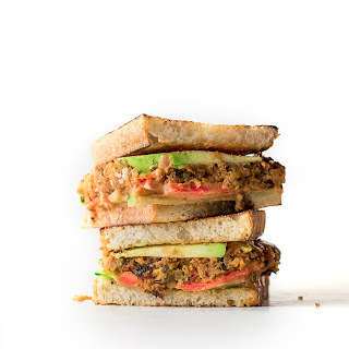 SUPER VEGGIE SANDWICH: SWEET POTATO & BLACK BEAN CHIPOTLE