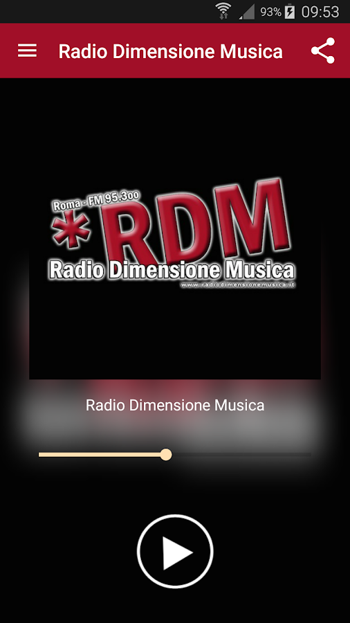 RDM Radio Dimensione Musica- screenshot