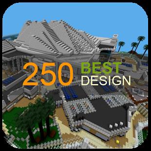 250 Modern House for MCPE - náhled