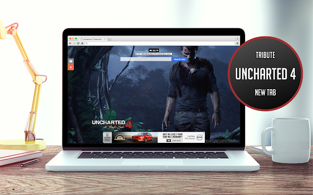 Uncharted 4 Tribute New Tab