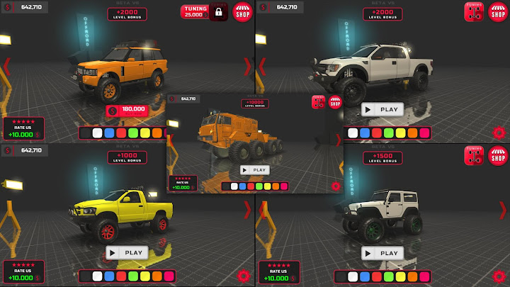 [PROJECT:OFFROAD] Android App Screenshot