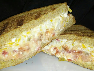 Peppy Pimento  Grilled Cheese Recipe
