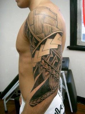 Hawaiian Arm Band Tattoos