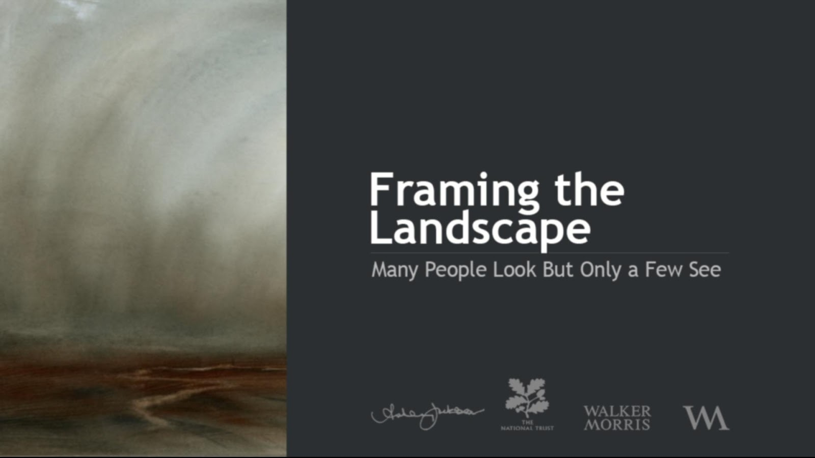 Framing the Landscape- screenshot