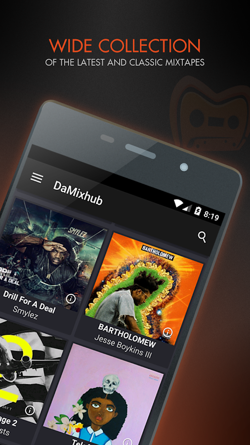 DaMixhub Hip-Hop & Mixtapes- screenshot