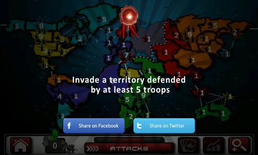 Rise Wars (strategy & risk)  screenshots 4