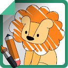 1-2-3 Draw - Tutorial for Kids icon