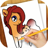 Learn To Draw Little Ponies
