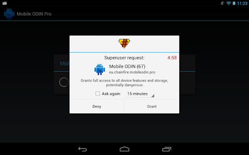 SuperSU Screenshot