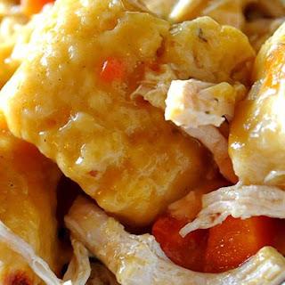 Slow Cooker Chicken and Dumplings.