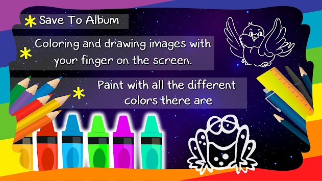 Coloring Book For Children By Start Games Kids Poster