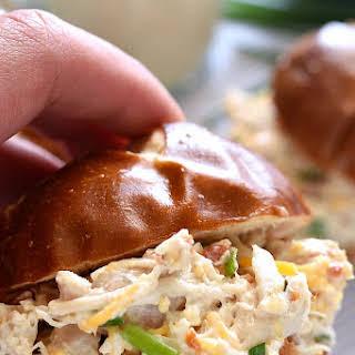 Bacon Cheddar Ranch Chicken Salad.