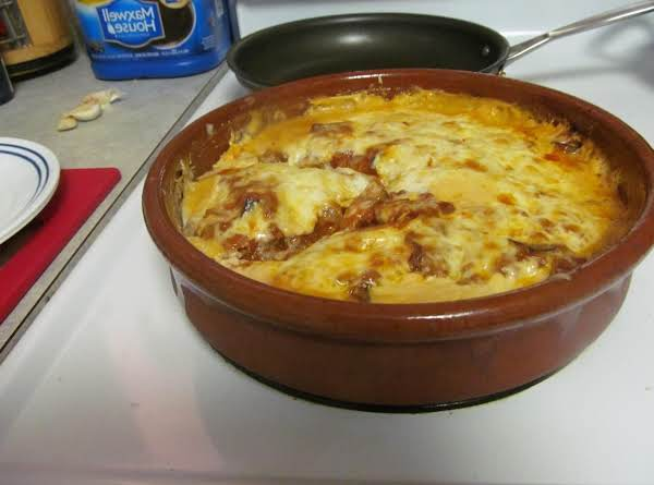 Mousaka Casserol Layered With A Twist! Recipe