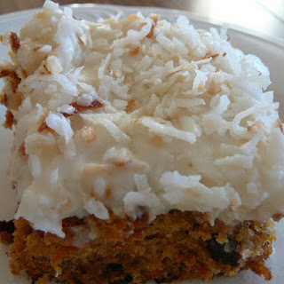 Carrot Cake With Raisins Pineapple Carrots Coconut Recipes