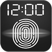 Fingerprint app Lock Simulator