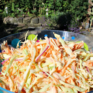 Low Fat BUT Creamy Coleslaw.