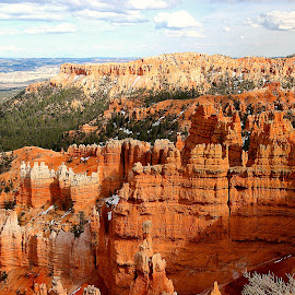 Bryce canyon - Vista by Gérard CHATENET - Landscapes Caves & Formations