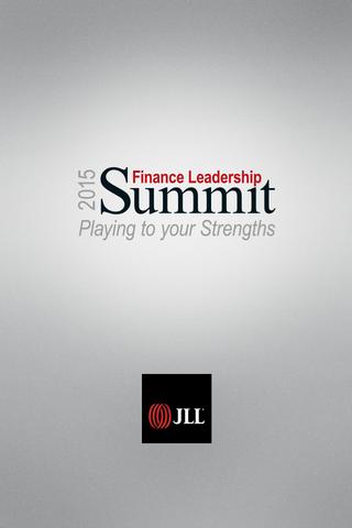 2015 Finance Leadership Summit