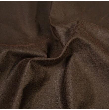 Oilskin - mörkbrun