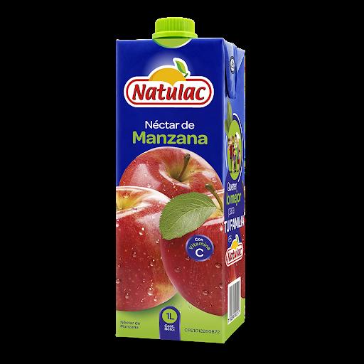 jugo natulac manzana uht 1lt
